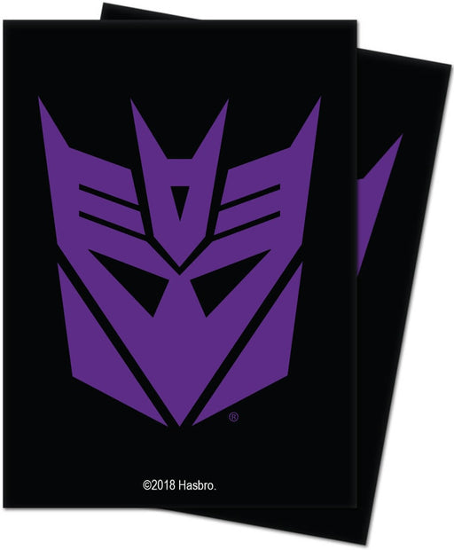 Transformers Sleeves Decepticons 100ct
