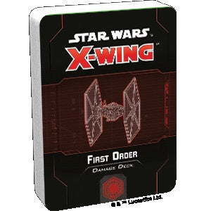 Star Wars X-Wing 2nd Edition First Order Damage Deck