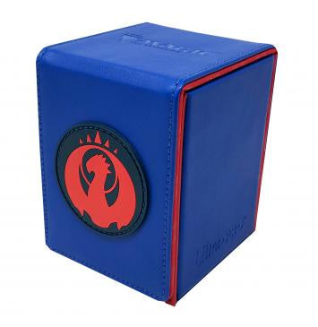 Ultra Pro Alcove Flip Box for Magic The Gathering  Izzet