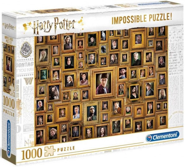 Clementoni Puzzle Harry Potter and the Chamber of Secrets Impossible Puzzle 1,000 pieces  Jigsaw Puzzl