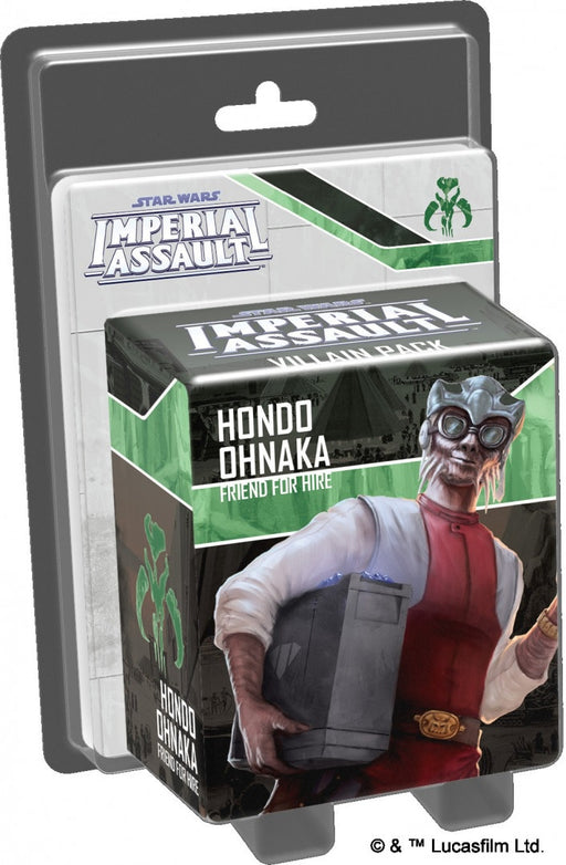 Star Wars: Imperial Assault Hondo Ohnaka Vilain Pack