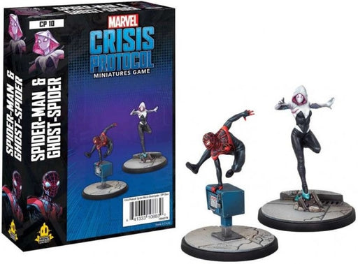 Marvel Crisis Protocol Ghost-Spider and Spider-Man