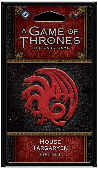 A Game of Thrones: The Card Game (Second Edition) House Targaryen Intro Deck