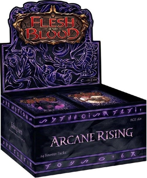 Flesh and Blood TCG Arcane Rising Booster Display (24)
