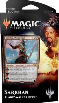Magic the Gathering: Core Set 2019 Planeswalker Deck Sarkhan
