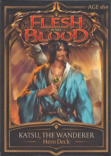 Flesh and Blood TCG Welcome to Rathe Hero Deck Katsu, the Wanderer (Ninja)