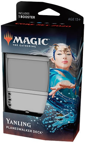 Magic the Gathering: Core Set 2020 Planeswalker Deck - Yanling