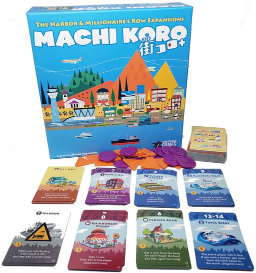 Machi Koro 5th Anniversary Expansion