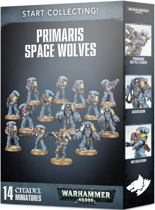 Warhammer 40K Space Wolves: Start Collecting! Primaris Space Wolves 70-53