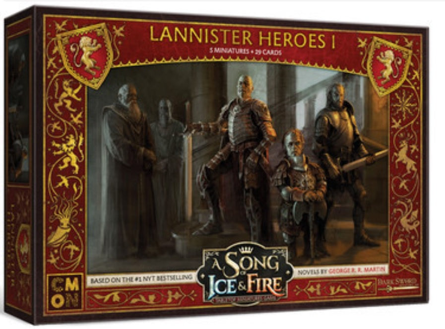 A Song of Ice and Fire TMG  Lannister Heroes 1