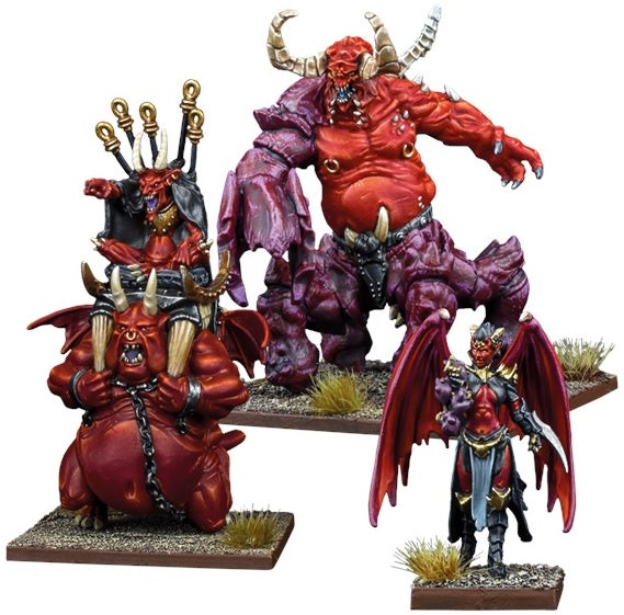 Kings of War Vanguard: Abyssal Warband Booster