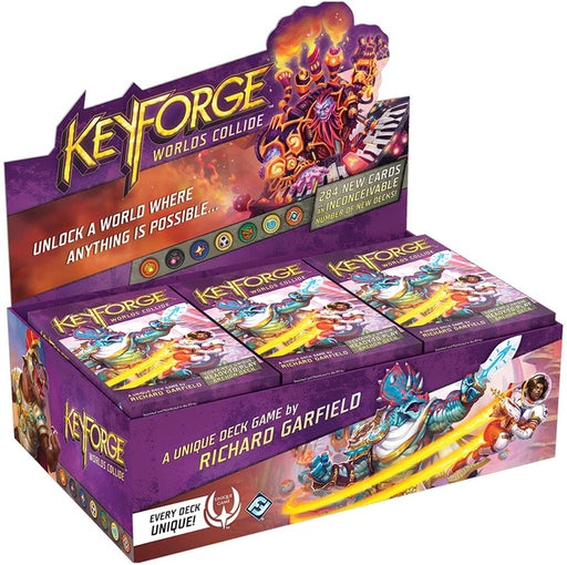 KeyForge Worlds Collide Archon Deck Display (12)