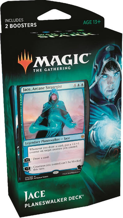 Magic the Gathering: War of the Spark Planeswalker Deck Jace