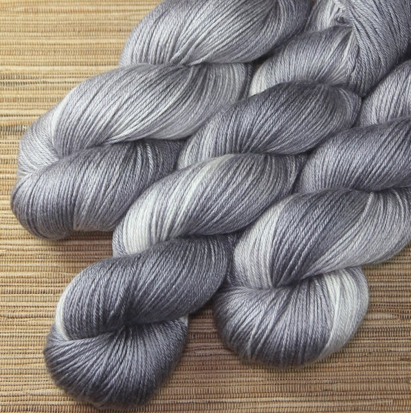 SILK 'Quicksilver' by Cloud Forest Yarns
