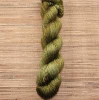 SILK 'Rich Olive' by Cloud Forest Yarns