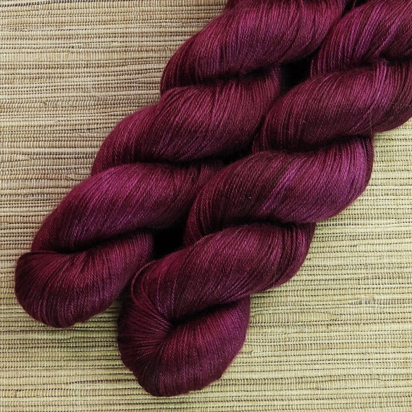 SILK 'Sangria' by Cloud Forest Yarns