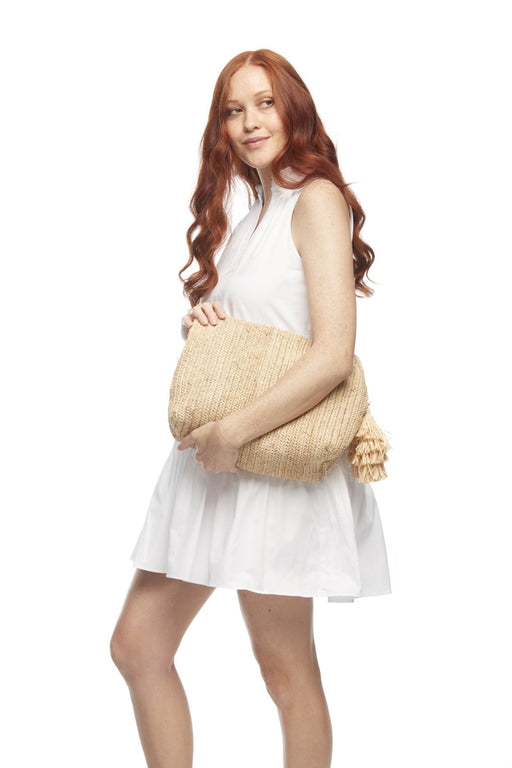 Nanda Clutch ~ Natural