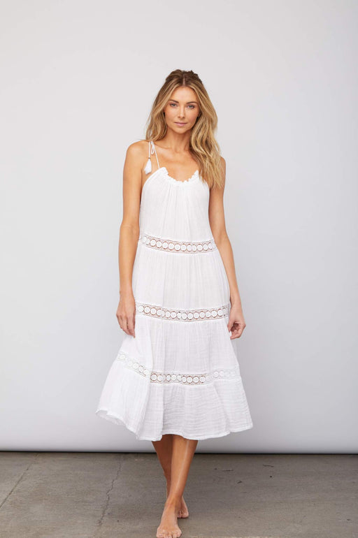 Huston Dress ~ White