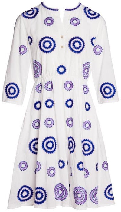 Achat Short Dress ~ Purple Circles