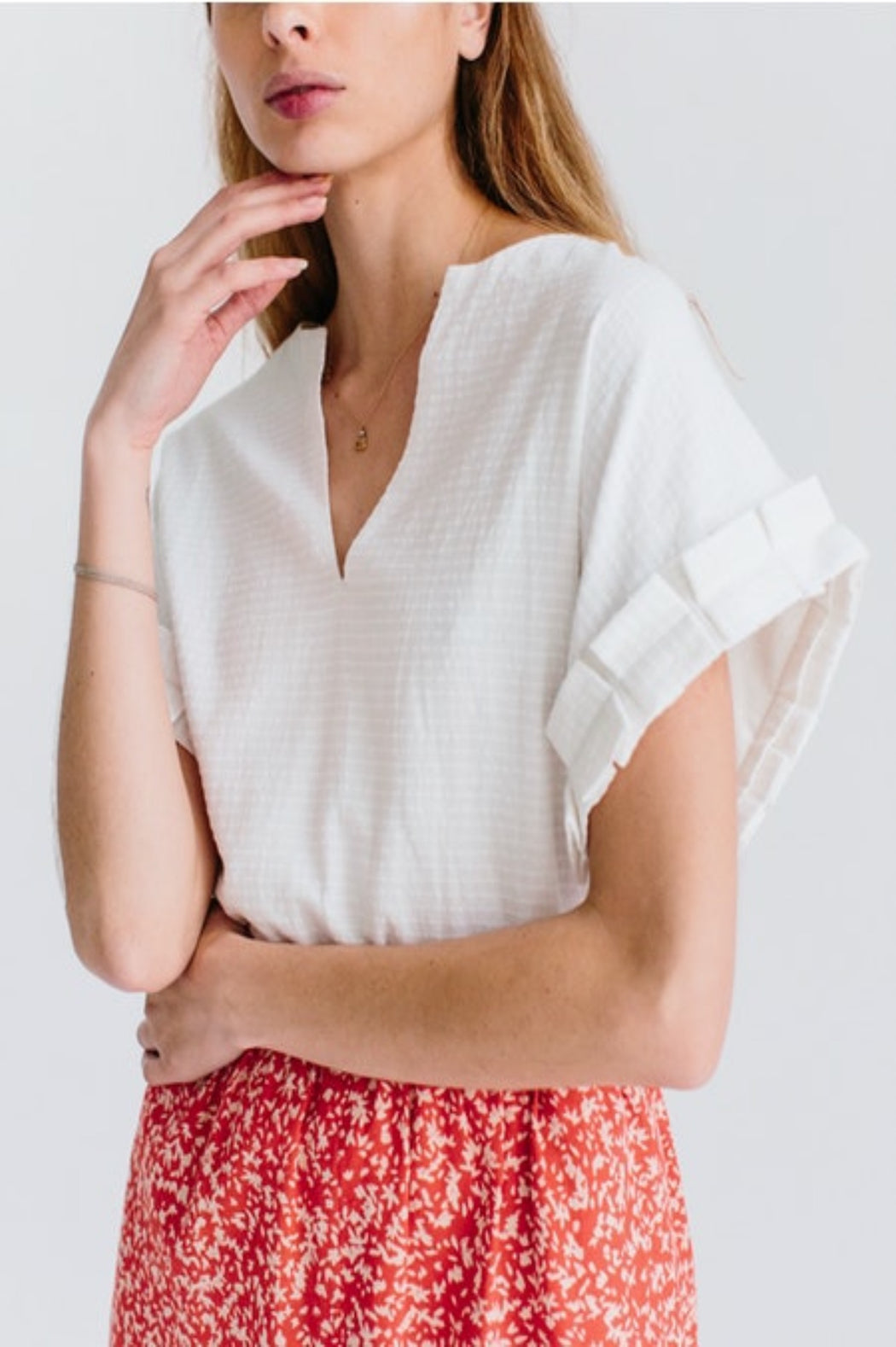 Amer Top ~ White