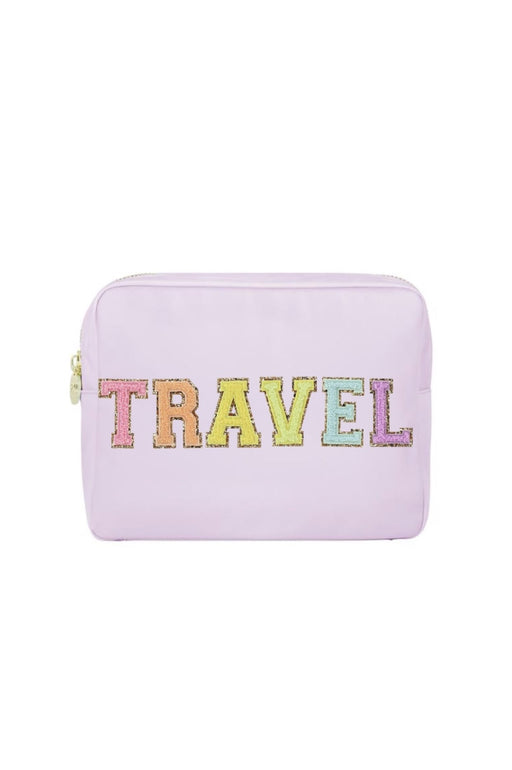 Travel Large Pouch ~ Lilac