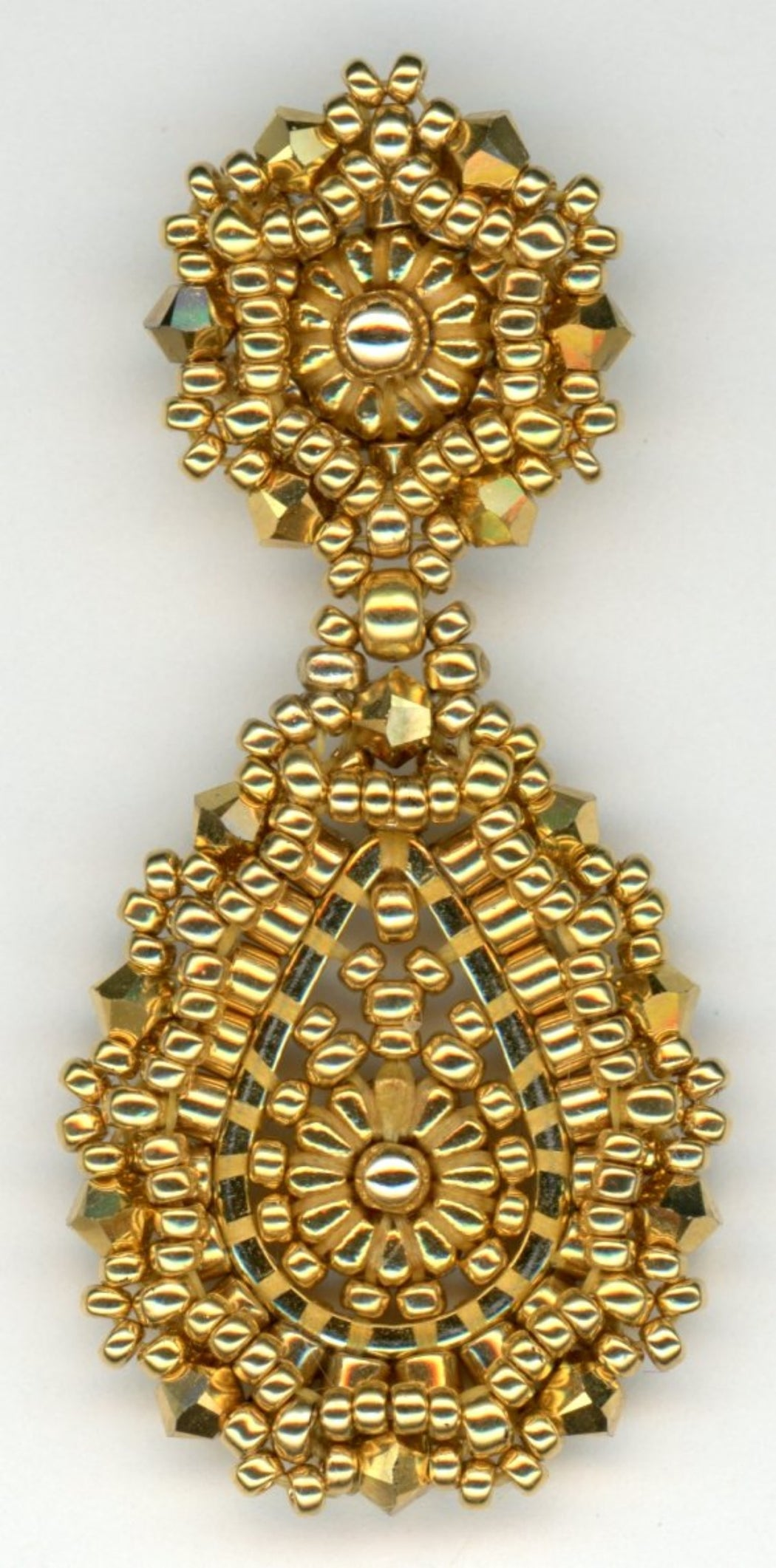 Gold Drop Earring
