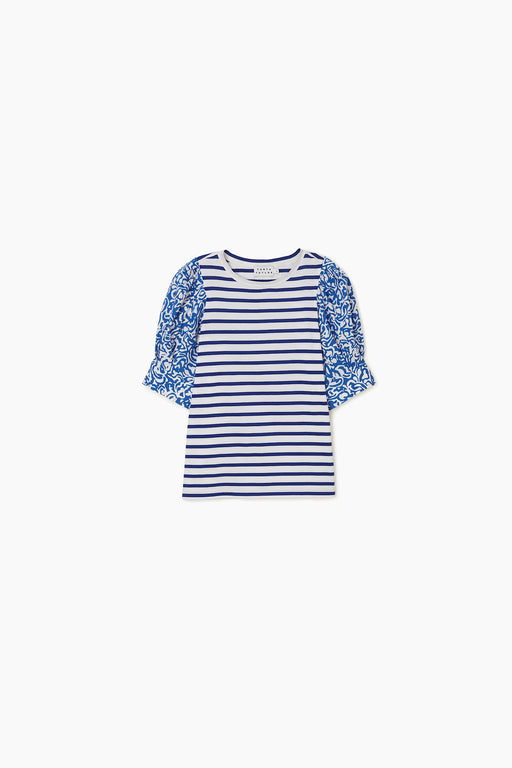 Alexi Top ~ Navy/White Stripe