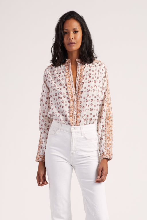 Freya Blouse ~ Windsor Print