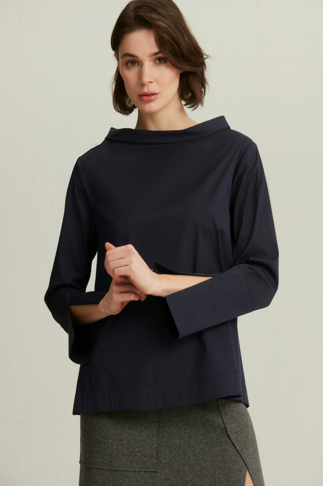 Nile Blouse ~ Navy