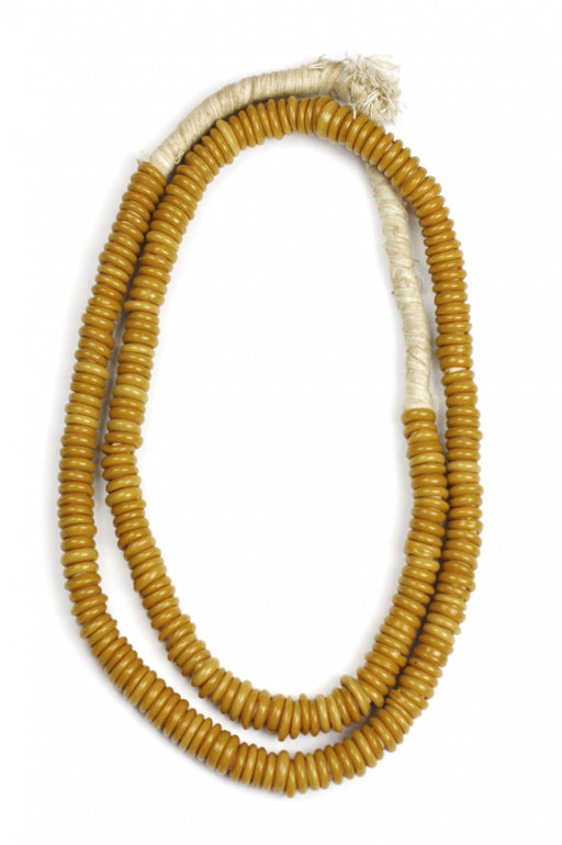 African Trade Beads ~ Shiny Camel