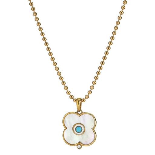 Evil Eye Charm ~ Mother Of Pearl