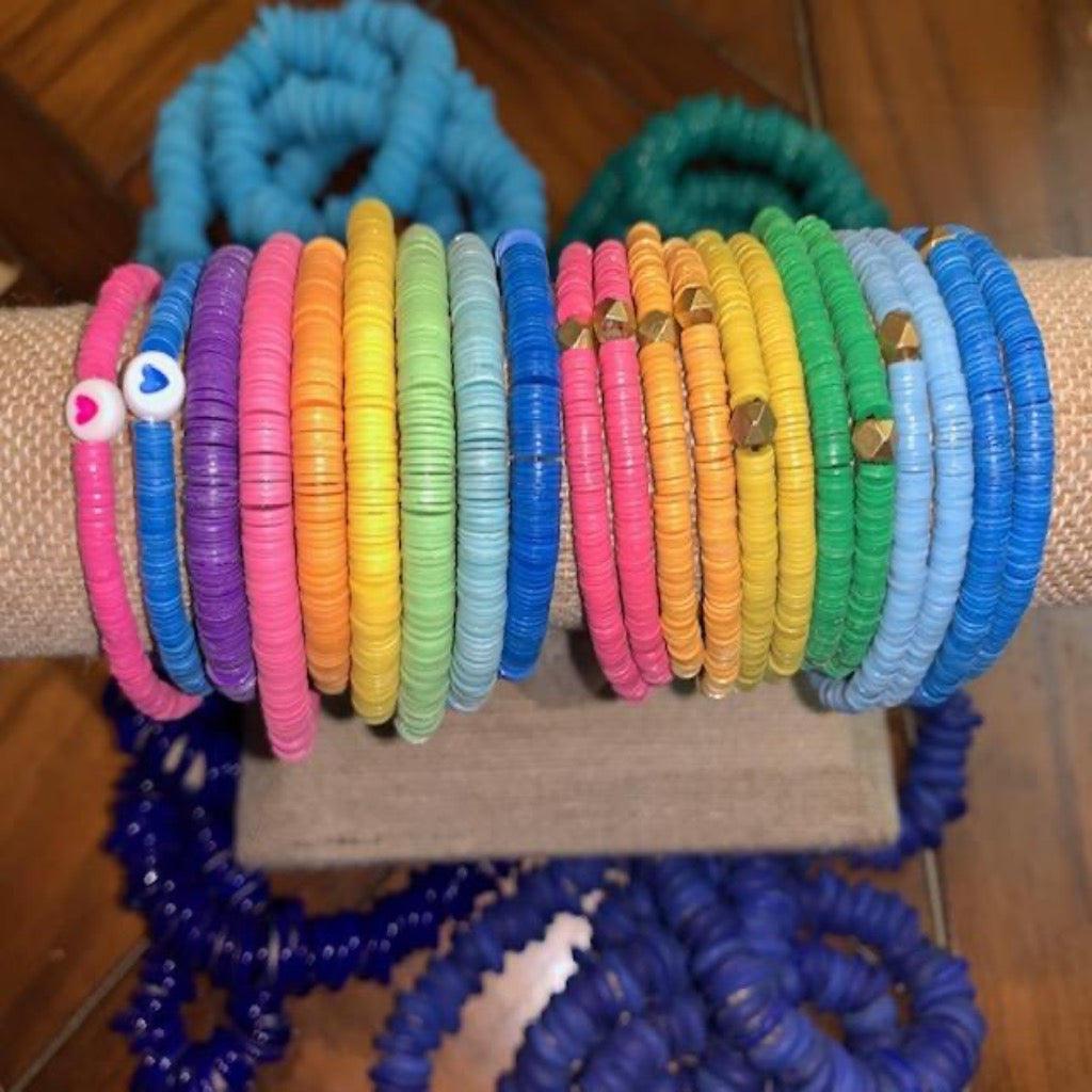 10 MM Colorful Stretch Bracelet