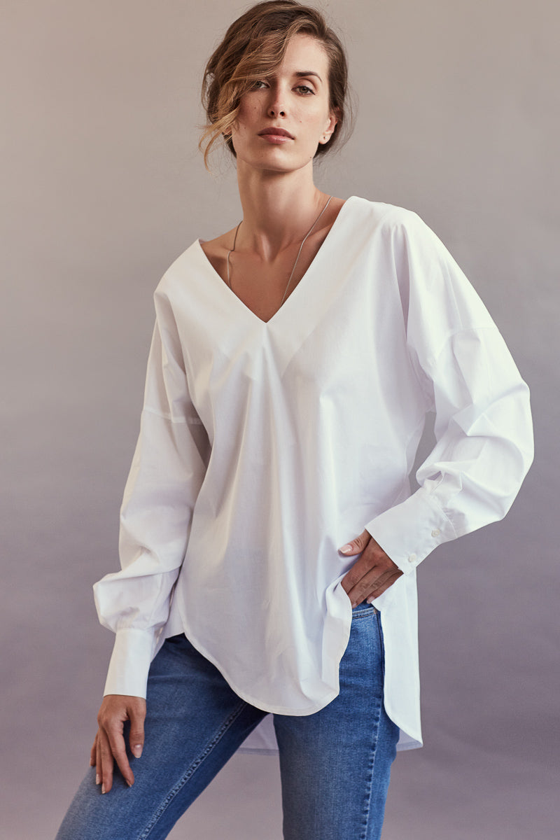 Salvador Tunic ~ White