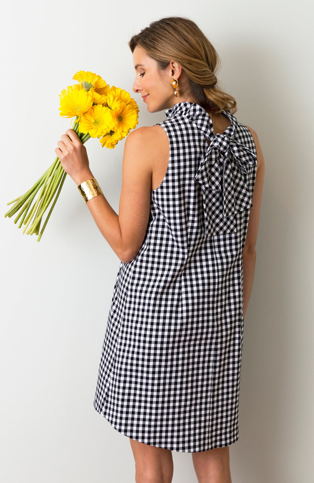 Stella Gingham Dress