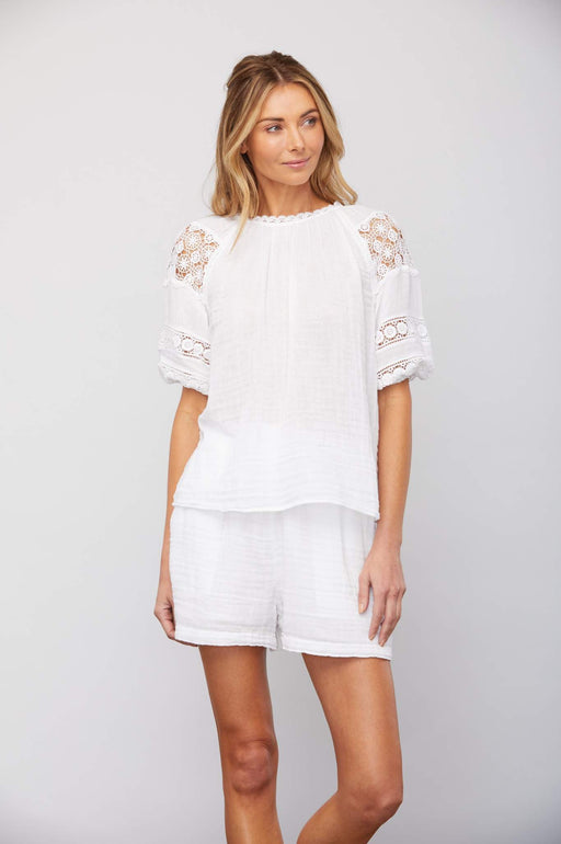 Racquel Top ~ White
