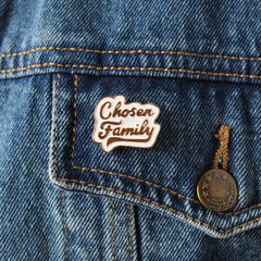 CHOSEN FAMILY ENAMEL PIN