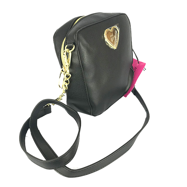 OUTLET Bolsa al hombro Betsey Johnson color negro