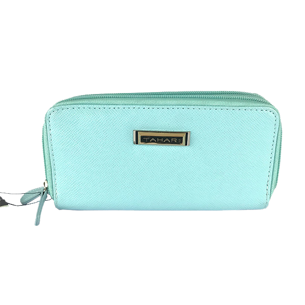 Cartera Tahari color azul cielo