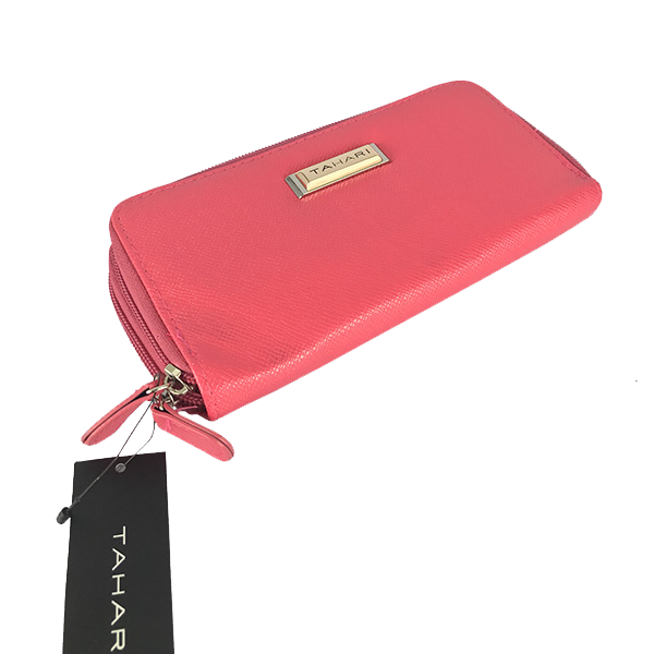 Cartera Tahari color rosa