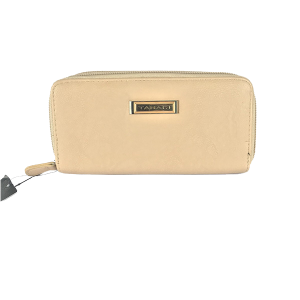 Cartera Tahari color piel