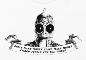 Lizard People T Shirt - Arbitrage Andy