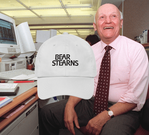 Bear Stearns Hat - Arbitrage Andy