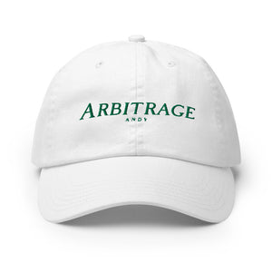 Arbitrage Andy Champion Dad Hat - Arbitrage Andy