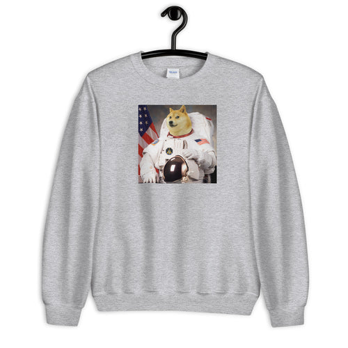Doge Coin Moon Sweatshirt