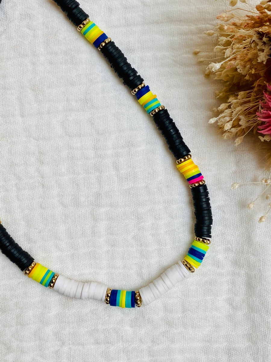 Choker summer black & white