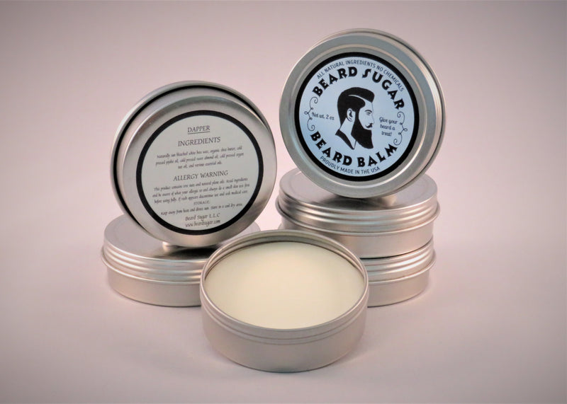 Dapper scented beard balm 2 oz. tin