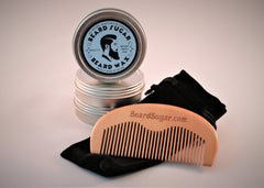 One 2 oz. tin and single comb combo