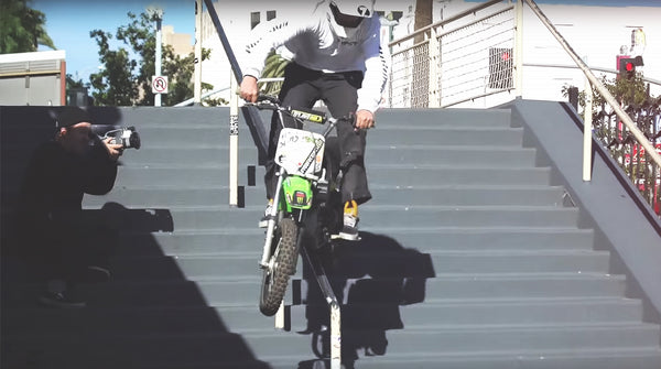 DIRT BIKES N' HANDRAILS? DENIM WITH A WORLD FIRST!