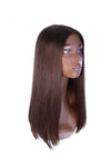"20"" Premium Lace Top Dark Brown Wig"