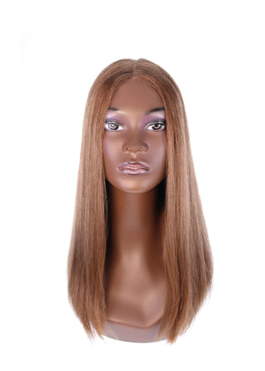 "20"" Premium Lace Top Light Brown Wig"